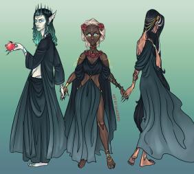 Hades, Persephone & Demeter